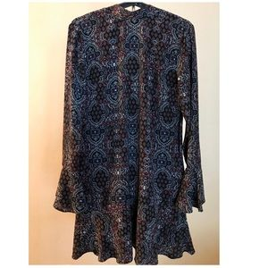 Long sleeve Dress, over the knee, new with tags